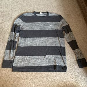 Abercrombie & Fitch Stripped Long Sleeve Teeshirt